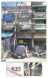 ตึกแถวหลุดจำนอง ธ.ธนาคารกรุงไทย ศาลาธรรมสพน์ ทวีวัฒนา กรุงเทพมหานคร